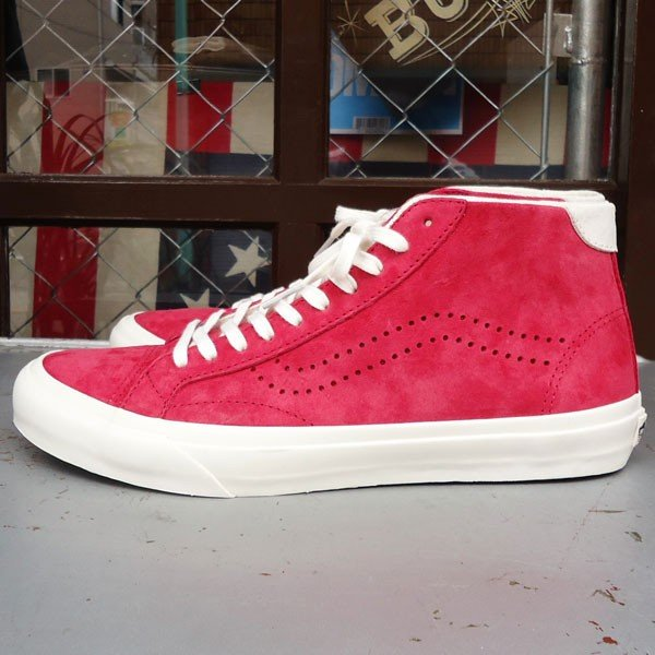 VANS Court Mid DX (Pig Suede)Chilli Pepper/USA企画 バンズ スエード ミッド メンズ USA 赤 RED レッド buddy-us-clothing 03