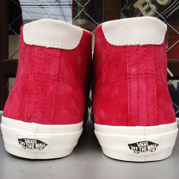 VANS Court Mid DX (Pig Suede)Chilli Pepper/USA企画 バンズ スエード ミッド メンズ USA 赤 RED レッド buddy-us-clothing 04