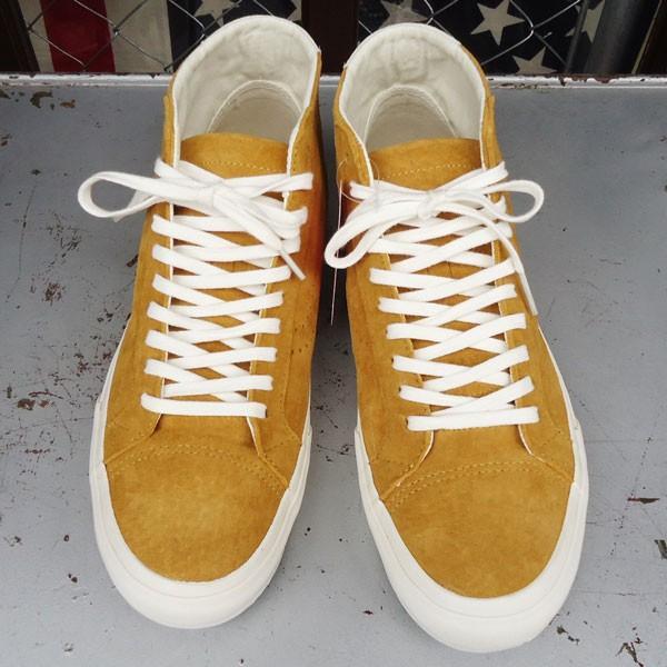 バンズ VANS Court Mid DX Pig Suede Amber Gold USA企画 ヴァンズ スエード ミッド メンズ USA  GOLD ゴールド|buddy-us-clothing|02