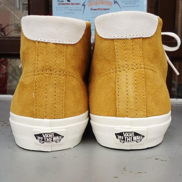 バンズ VANS Court Mid DX Pig Suede Amber Gold USA企画 ヴァンズ スエード ミッド メンズ USA  GOLD ゴールド|buddy-us-clothing|04