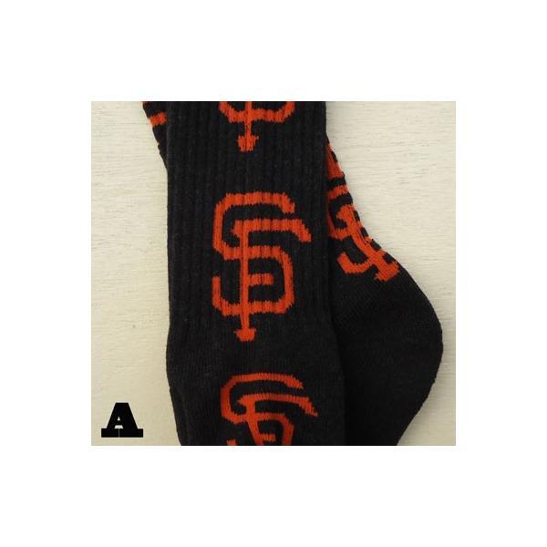 メジャーリーグ MLB ROSTERSOX NEW YORK YANKEES SANFRANCISCO GIANTS ロースターソックス ニューヨーク ヤンキース サンフランシスコ ジャイアンツ 靴下|buddy-us-clothing|03