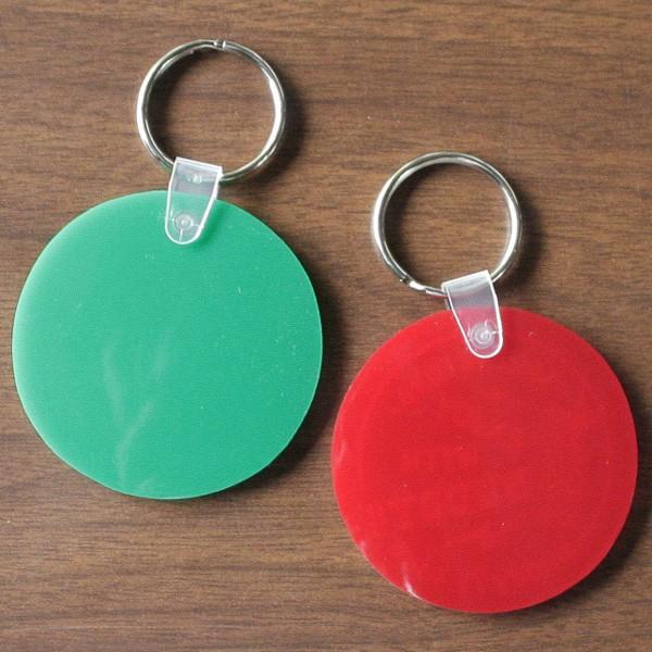 アメリカ製 キーホルダー BUDDY オリジナル ソフトビニール ラウンド キータグ ENJOY WITH BUDDY!! グリーン レッド Round Key Tag Made in U.S.A. インディアン|buddy-us-clothing|06