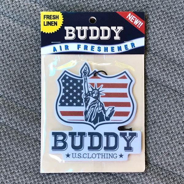 自由の女神 エアフレッシュナー BUDDY オリジナル U.S.A. AIR FRESHENER Statue of Liberty・ENJOY WITH BUDDY!!  芳香剤 消臭剤 アメリカ USA インディアン|buddy-us-clothing|03