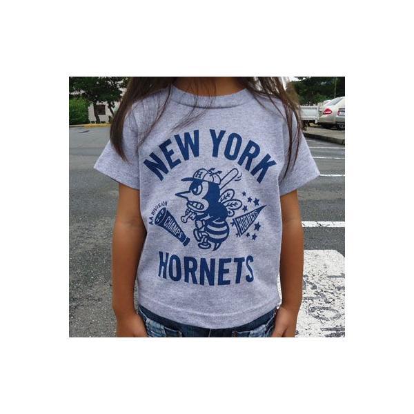 ★SPRINGFORD★BUDDY オリジナル  KID'S Tシャツ(HORNETS)|buddy-us-clothing|02