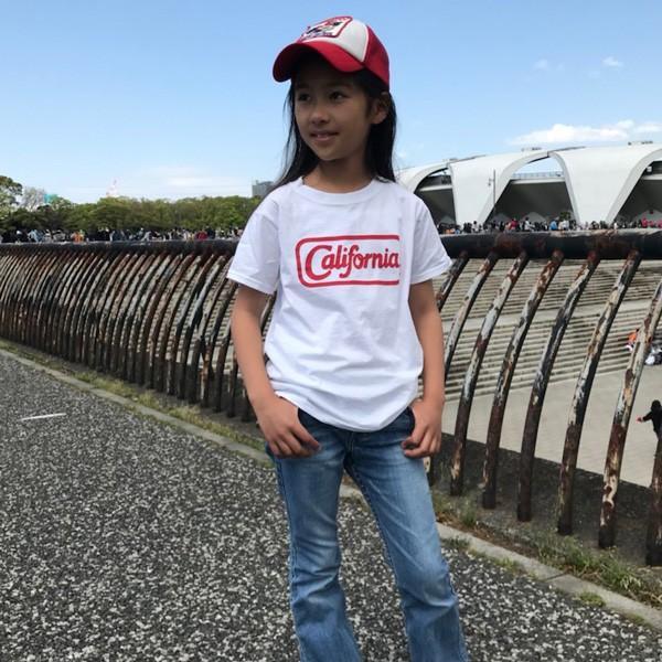 アメカジ キッズ Tシャツ BUDDY×FRUIT OF THE LOOM KID'S CALIFORNIA フルーツオブザルーム KID'S コットン 綿100% 子供服 カリフォルニア 親子 ペアルック|buddy-us-clothing