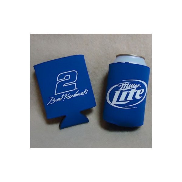 Miller Lite BEER×NASCAR #2  CAN KOOZIE/ミラービール×ナスカー 保冷・保温 缶 クージー|buddy-us-clothing