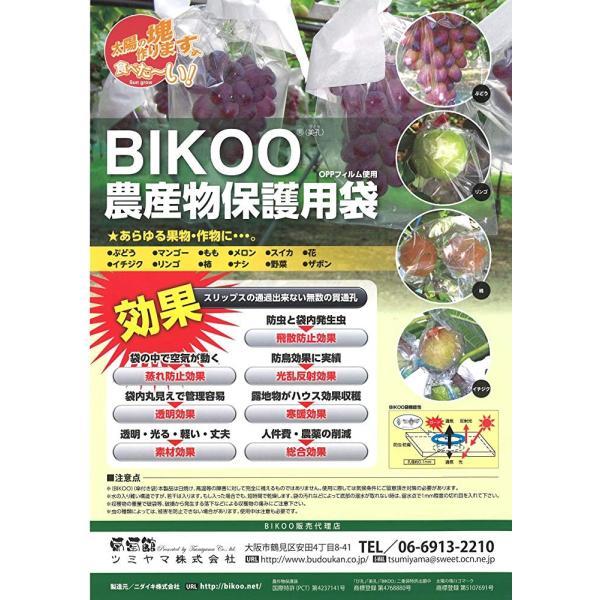 BIKOO - L 大 (250×350) サイズ (農産物保護用袋) 100枚入|budoukan-shop|03