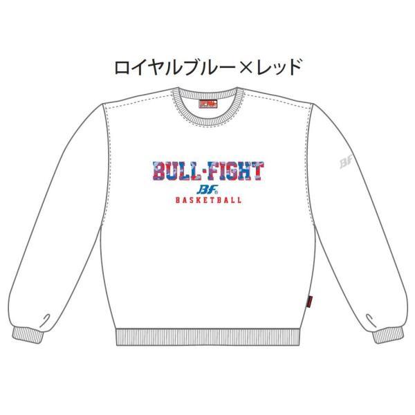 バスケットボール スウェットシャツ シンプルデザイン メンズ レディース ジュニア|bullfight|02