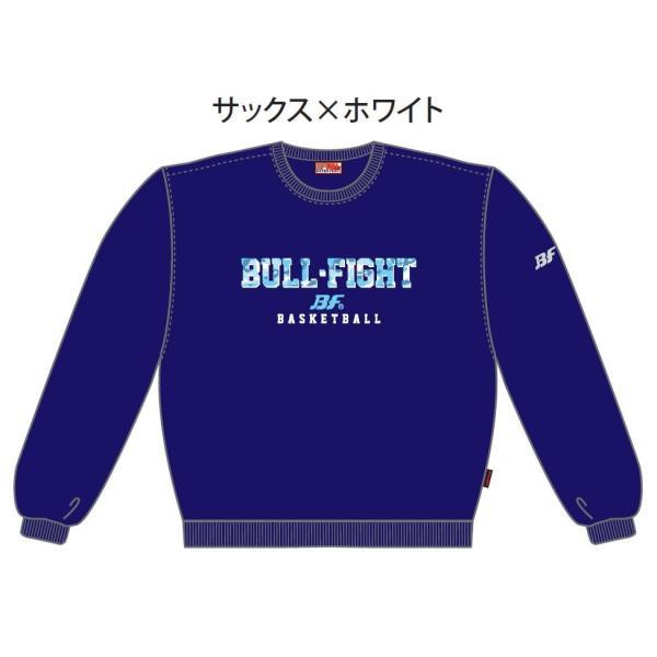バスケットボール スウェットシャツ シンプルデザイン メンズ レディース ジュニア|bullfight|03