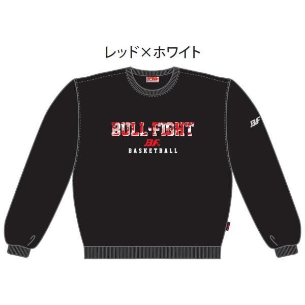 バスケットボール スウェットシャツ シンプルデザイン メンズ レディース ジュニア|bullfight|04