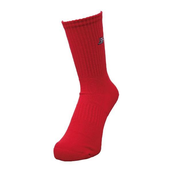 バスケットボールソックス 靴下 定番 シンプル 人気 ブルカラソックス|bullfight|04