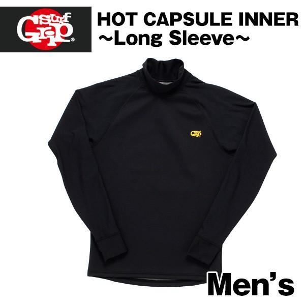 SURF GRIP インナー ロングスリーブ メンズ ウェットスーツ HOT CAPSULE INNER サーフグリップ ウエットスーツ 防寒 防水