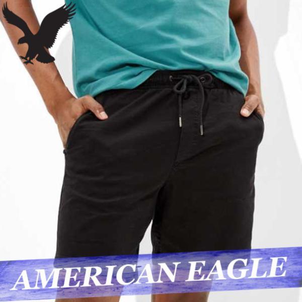 55feaa818575 アメリカンイーグル スウェットパンツ ショートパンツ/ハーフパンツ 短パン ショーツ メンズ 新作 ズボンの画像