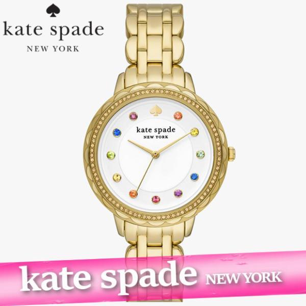 ケイトスペード  腕時計/ウォッチ  レディース/ウィメンズ  メトロ  フローラル  ブラック  レザー  新作  KSW1514