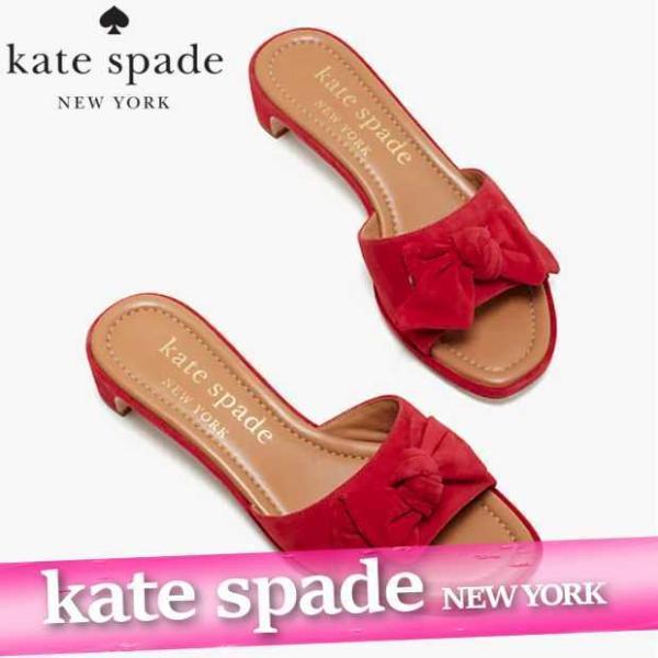 ケイトスペード  ヒールシューズ  レディース  サンダル  モナ  スエード  レザー  9.1cm  靴 新作  S9700898|bumps-jp