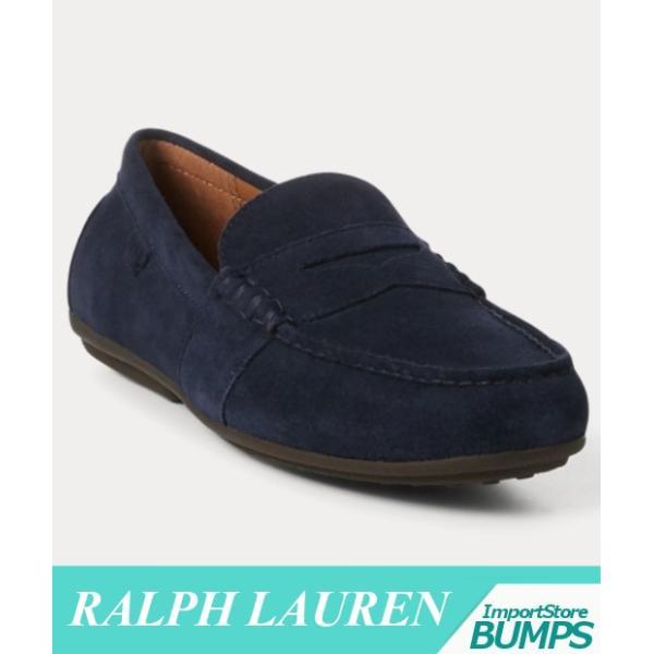 ポロ ラルフローレン  ドライバーシューズ  ローファー  メンズ  Reynold  スエード  靴 新作 RL bumps-jp