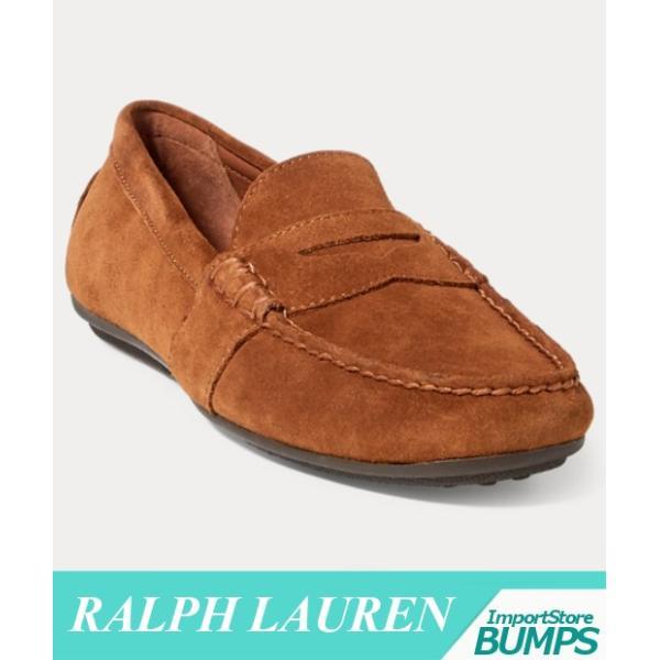ポロ ラルフローレン  ドライバーシューズ  ローファー  メンズ  Reynold  スエード  靴 新作 RL|bumps-jp