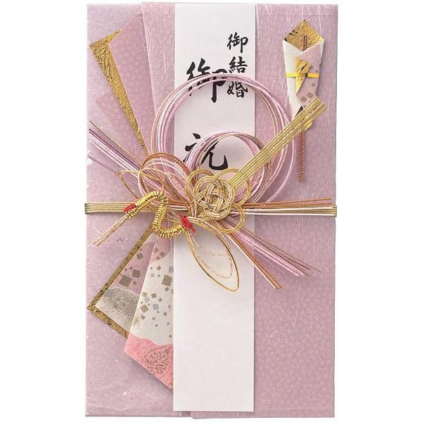 【ネコポス対応〇】マルアイ 舞シリーズ ことね ご祝儀袋 鶴・赤 1枚【キ-656R】