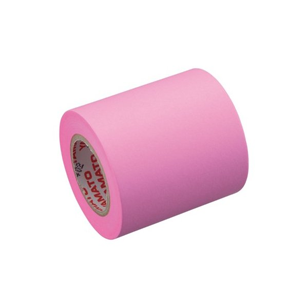 ヤマト メモックロールテープ詰替用 1巻入り 50mm×10m ローズ