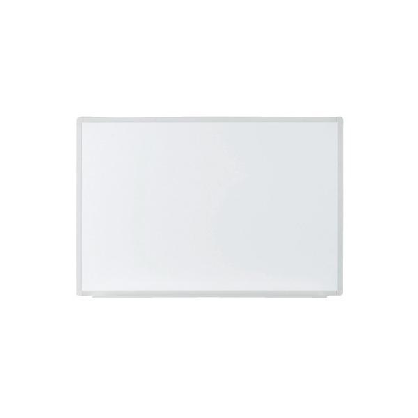 プラス 壁掛ホワイトボード 無地 VSK2-0906SS 幅900mm