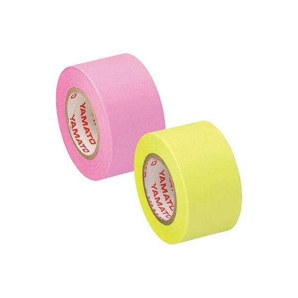 ヤマト メモックロールテープ詰替用 2巻入り 25mm×10m ローズ&レモン