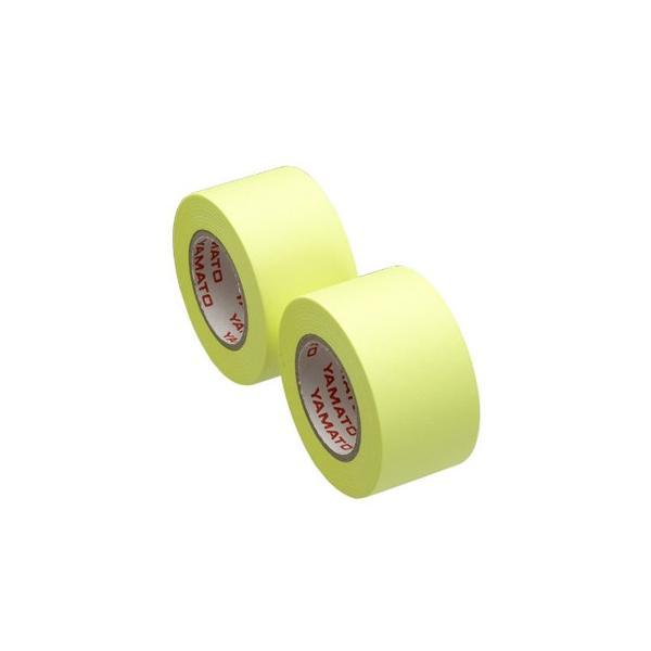 ヤマト メモックロールテープ詰替用 2巻入り 25mm×10m レモン