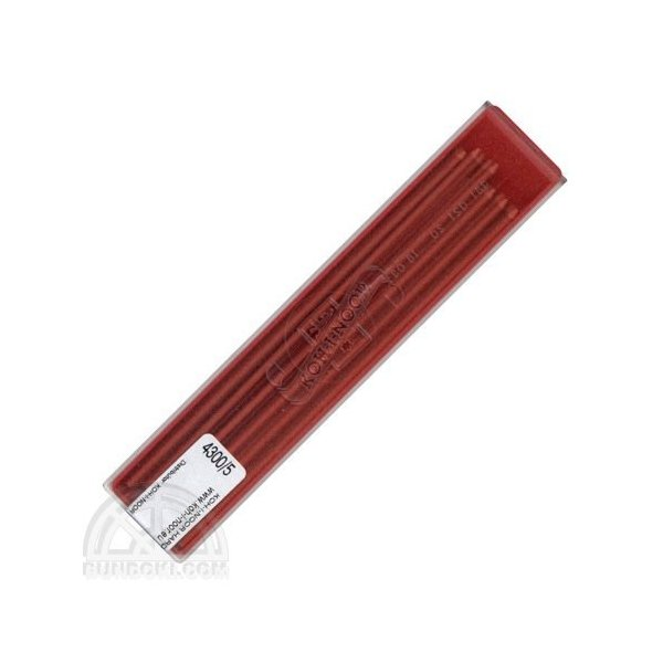 KOH-I-NOOR コヒノール  2ミリカラー芯(レッド)