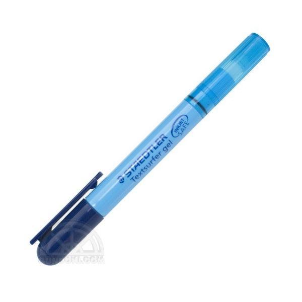 STAEDTLER/ステッドラー テキストサーファーゲル(固形蛍光マーカー)ブルー/264-3