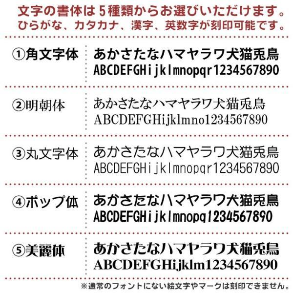 【名入れ無料・ネームタグ】ペット筆チャーム【熊野製】 buneidou 03