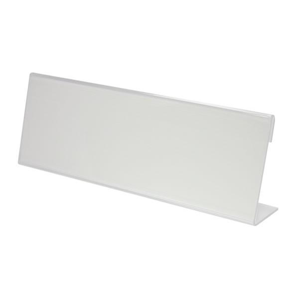 プラス/カード立て・L型(CT-101L・62-209) 表示面傾斜角度70 オフィスの案内表示用・店舗のプライスカード立て等に最適/PLUS