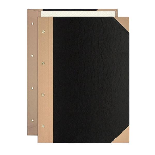 【A4-S】プラス/とじ込表紙 4穴 (FL-006TU・77-178) A4 縦型 つづりひもで厚さは自在に調整。 PLUS