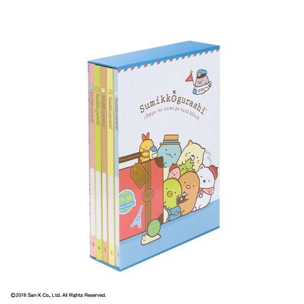 ナカバヤシ/5冊BOXアルバム すみっコぐらし L判写真を210枚収納 (ア-PL-1031-13) フォトアルバム Nakabayashi