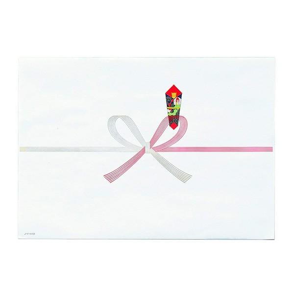 マルアイ/祝 のし紙 蝶結び A5 厚口 N 100枚入(ノイN1A5)表書きをプリンタで印刷可能 MARUAI ノイ-N1A5