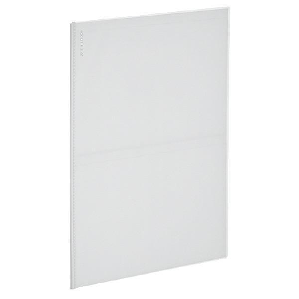 【A4サイズ】コクヨ/ポストカードファイルα ノビータα A4・5枚(20ポケット)(ラ-NF500T)透明 名刺やカードの整理に最適なカードファイル KOKUYO