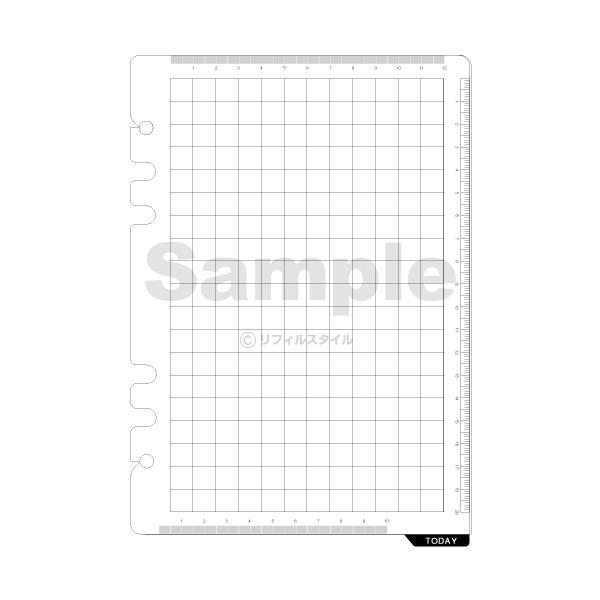 システム手帳リフィル A5 ダ・ヴィンチ 下敷き&スケール (メール便対象)|bungu-style|02