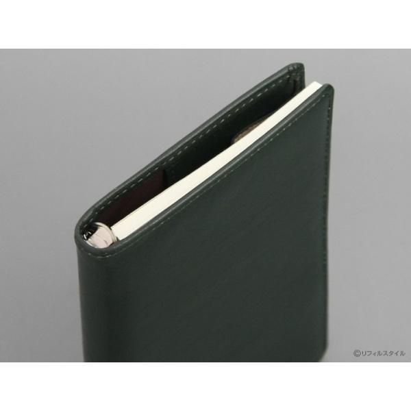 システム手帳(名入れ1円 )やっぱり本革 スーパーロイス ポケット ミニ6穴 ダ・ヴィンチ スリムな8mm径 5色(送料&ラッピング無料)JDP3009|bungu-style|05