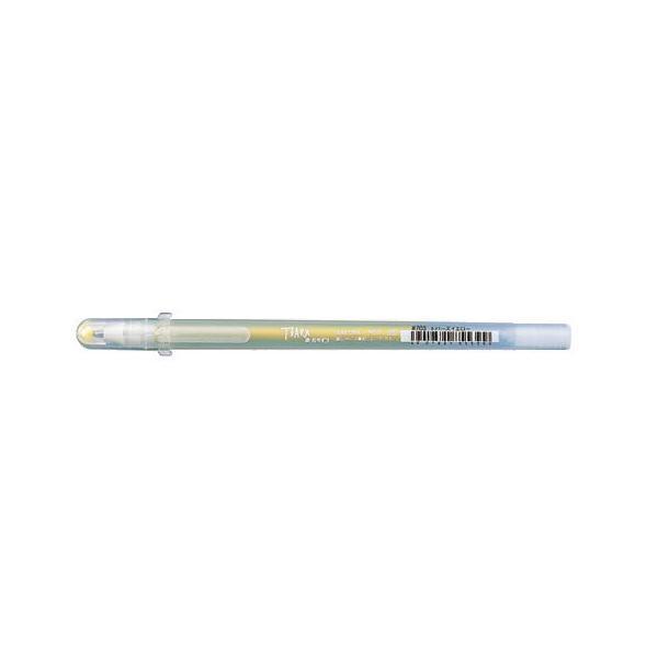 ゲルインキボールペン ボールサイン ティアラ 誕生石カラー 11月 [トパーズイエロー] 1.0mm
