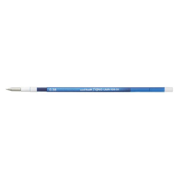 ゲルインクボールペン リフィル [ブルー] 0.38mm UMR-109-38