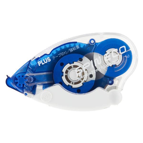 プラス/テープのり スピンエコ 22m 本体 ブルー TG-610BC