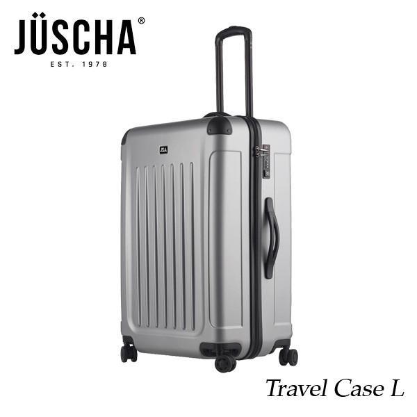 スーツケース  lサイズ 90l シルバーマット キャリーケース  出張 旅行 ハード メンズ レディース 人気  海外ブランド JUSCHA 送料無料 【メール便不可】