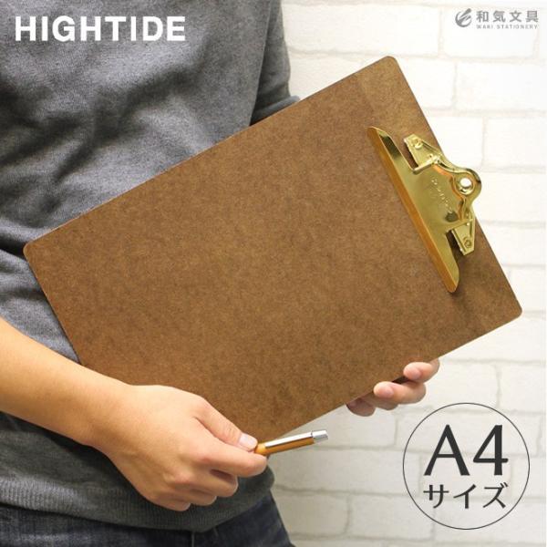 ハイタイド HIGHTIDE ペンコ penco クリップボード ゴールド A4