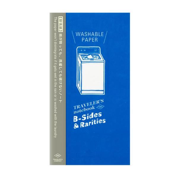 限定 トラベラーズノート TRAVELER'S Notebook B-side & Rarities リフィル 耐洗紙
