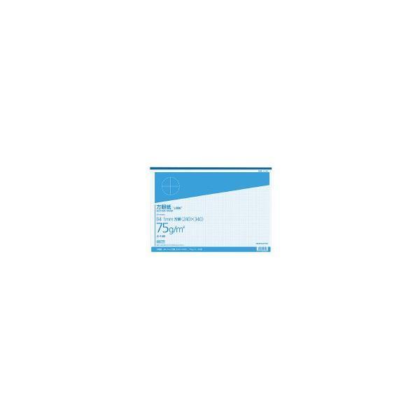 コクヨ ホ-14B 上質方眼紙 B4 1mm目 ブルー刷り 50枚とじ
