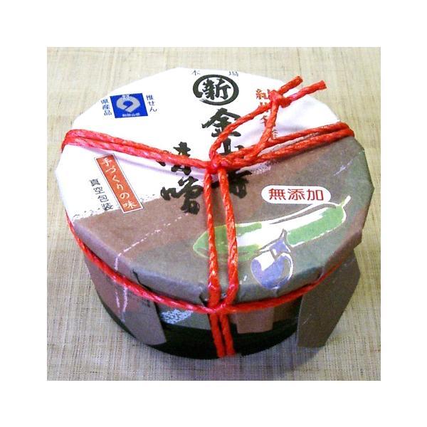 金山寺味噌 400g (樽)  丸新11240