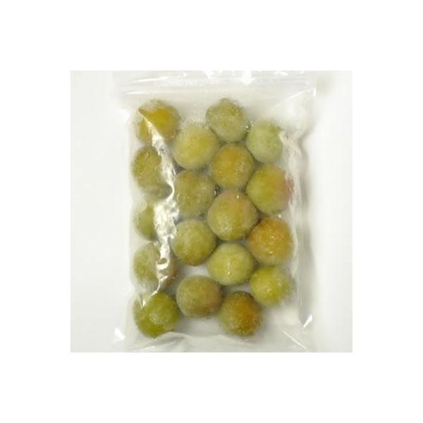 冷凍青梅(生梅) 品種=南高梅 500g(紀州和歌山産)梅酒、梅シロップ専用・クール冷凍便発送