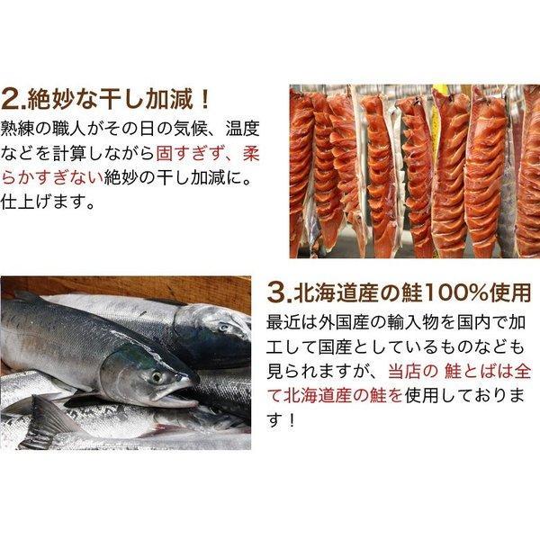 【送料無料】北海道産熟成.鮭とば110g. さけとば ポイント消化 サケトバ 鮭トバ 珍味 <sale>【D】|buono-buono|04