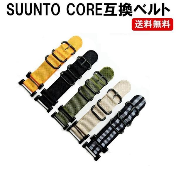 スントコア ベルト 交換 SUUNTO CORE ベルト コア バンド 遊革 ベルト通し 互換品  定形内