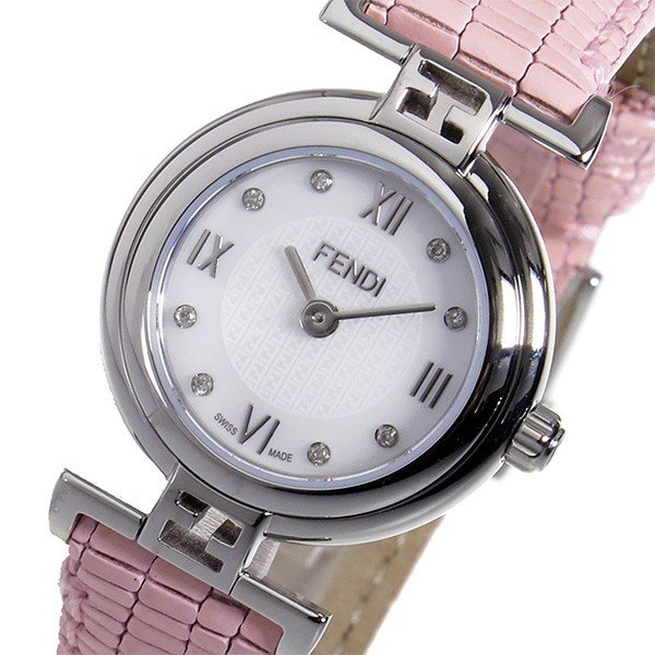 フェンディ モーダ クオーツ レディース 腕時計 F271247D-NEW ホワイトパール 人気 ブランド