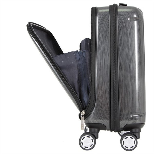 【令和記念★最大17倍】バーマス スーツケース 機内持ち込み LCC Sサイズ 21L フロントポケット プレステージII BERMAS 60255