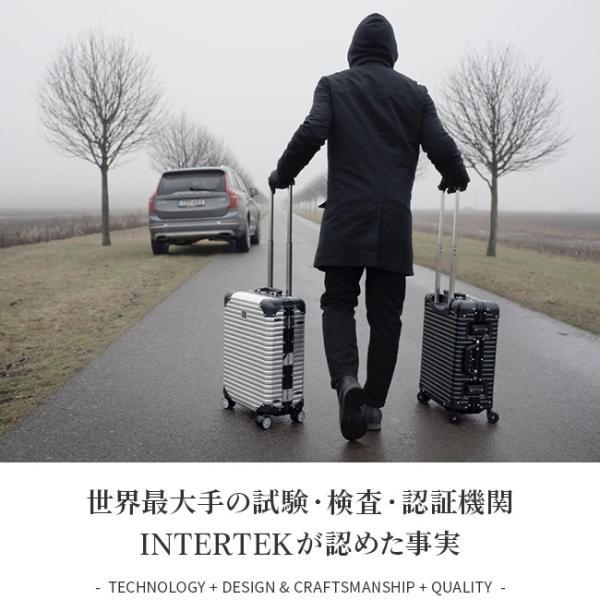 【令和記念★最大17倍】ランツォ LANZZO スーツケース Mサイズ アルミ 64L NORMAN ノーマン no-a-27